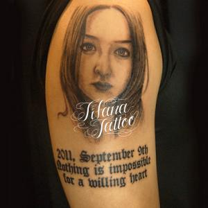 写真のタトゥー