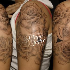 薔薇|ROSEのタトゥー