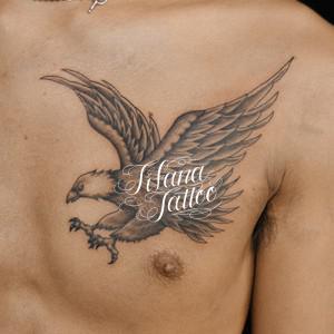 鷲|鷹のタトゥー