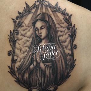 マリア様のタトゥー作品画像
