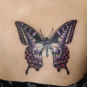 アゲハ蝶のタトゥー