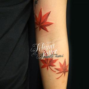紅葉の刺青作品