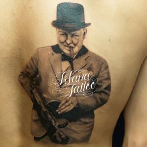 ウィンストン・チャーチルのタトゥー