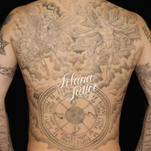 ミカエル|ルシファーのタトゥー