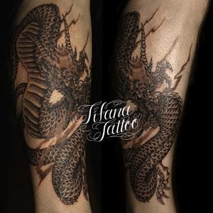 龍の刺青作品画像