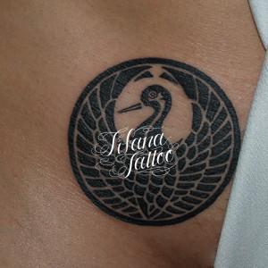 家紋のタトゥー