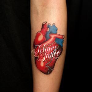 心臓のタトゥー