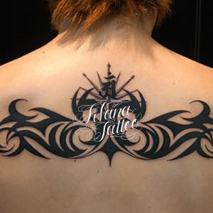 Symmetry Tribal Tattoo