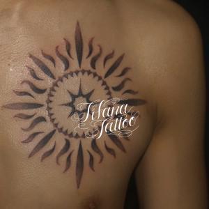 太陽のタトゥー