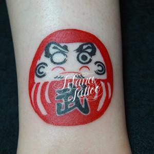 達摩の刺青作品