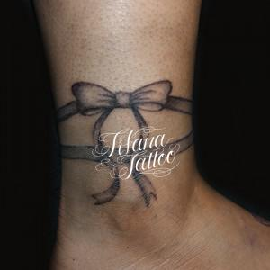 Ribbon Tattoo