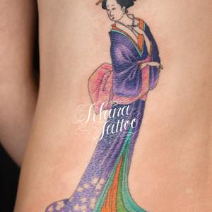 Geisha Girl Tattoo