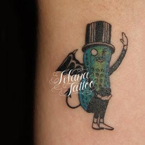 Mr.Peanut Tattoo