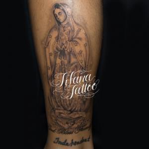グアダルーペのタトゥー