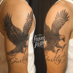 鷹|鷲のタトゥー