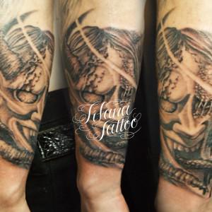 般若の刺青作品