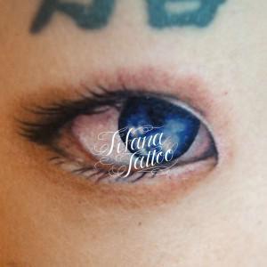 目|EYEのタトゥー