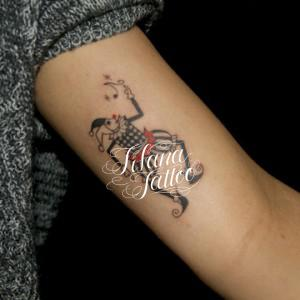 ジョーカーのタトゥー