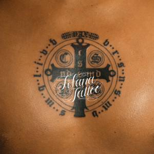 The St. Benedict Medal Tattoo
