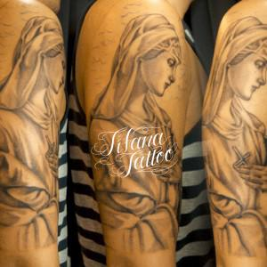 マリア様のタトゥー