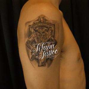 紋章のタトゥー|刺青作品