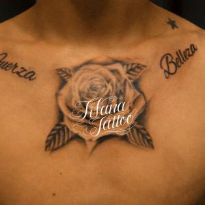 薔薇のシンメトリー・タトゥー