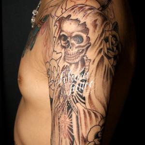 死神のタトゥー|製作中