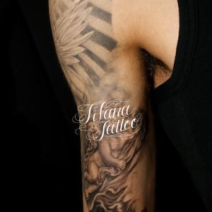 天使のタトゥー|製作中