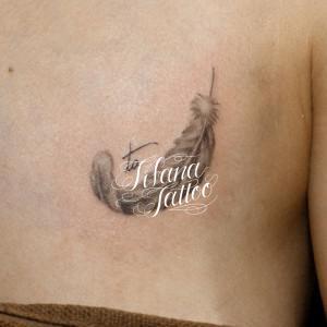 フェザー|羽のタトゥー