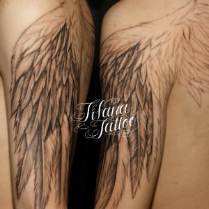 翼のタトゥー|制作進行中