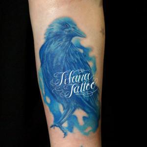 青い烏のタトゥー|製作中