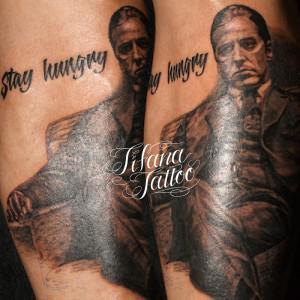 アルパチーノのタトゥー