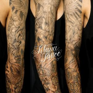Full Sleeve Tattoo