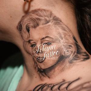 マリリン・モンローのタトゥー