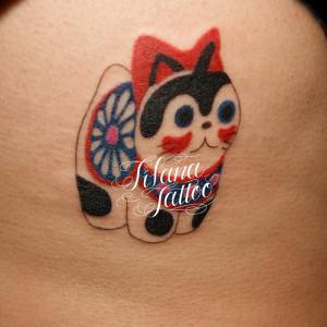 犬張子の刺青