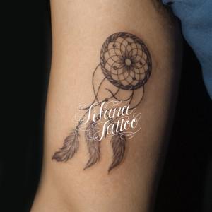 ドリーム・キャッチャーのタトゥー