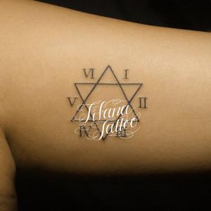 Hexagram Tattoo