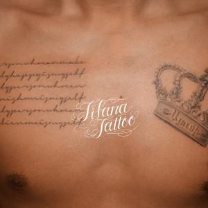 王冠|レタリングのタトゥー