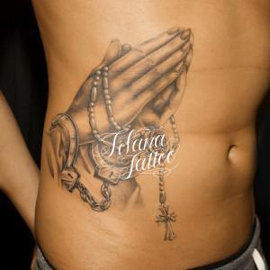 プレイング・ハンズのタトゥー