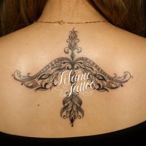 Botanical Ornament Tattoo