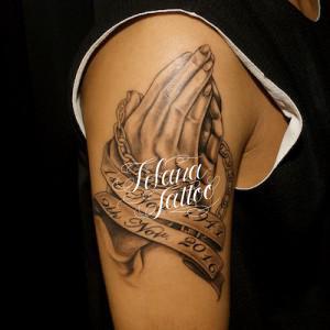 プレイングハンズのタトゥー