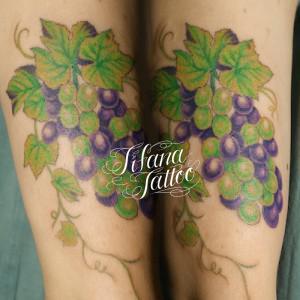 ブドウのタトゥー