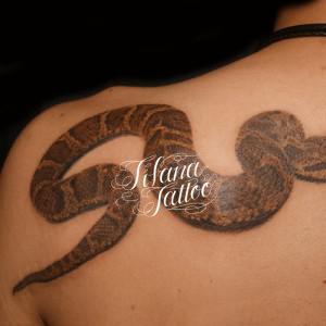 蛇|ヘビのタトゥー